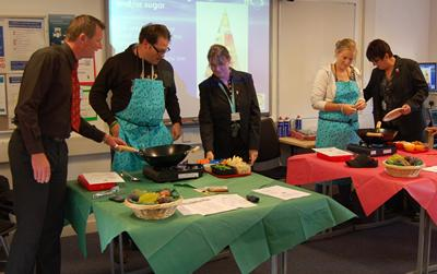Working with head teachers and their staff, parents and pupils to promote healthy eating
