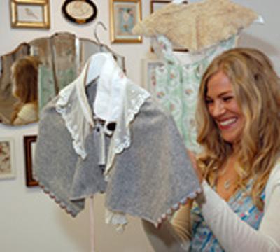 Alice Goldie makes final preparations