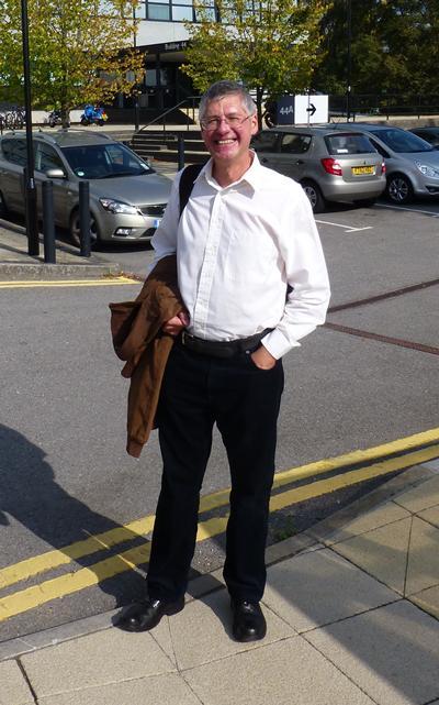 Image of Professor Milton