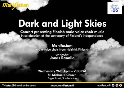 Manifestum perform Dark and Light Skies at St. Michael's Church on 26 April 2017