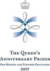 Queen's Anniversary Prize for Higher Education logo 2017
