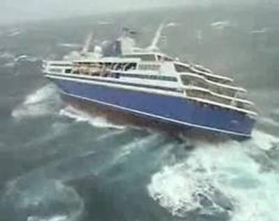 Parametric resonance in ships