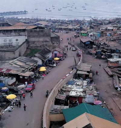 Accra in Ghana