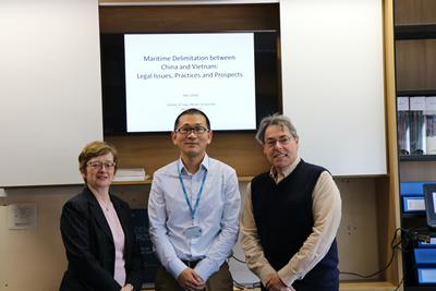 Dr Wei ZHAO with our team