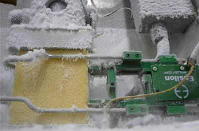 Low temperature compression test