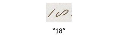 """Numbers: """"18"""""""