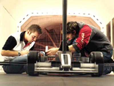 Visitors will have a rare chance to see inside a wind testing tunnel.