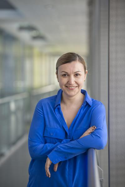 Elena Simperl, Associate Professor in Electronics and Computer Science