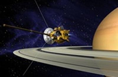 Cassini in Saturn's rings