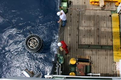 Trace Metal Rosette deployment aboard the RRS James Cook during cruise JC068