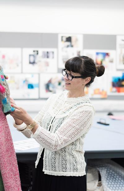 Delia Crowe - Pathway Leader MA Fashion Design