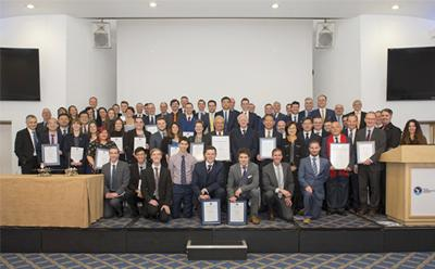 Royal Aeronautical Society award winners