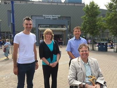 Arriving at University Hospital Southampton