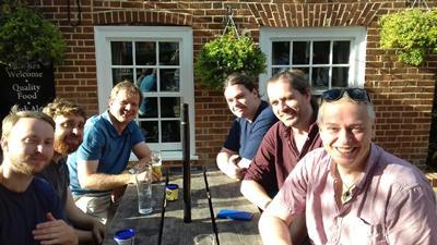 Project team in Brockenhurst