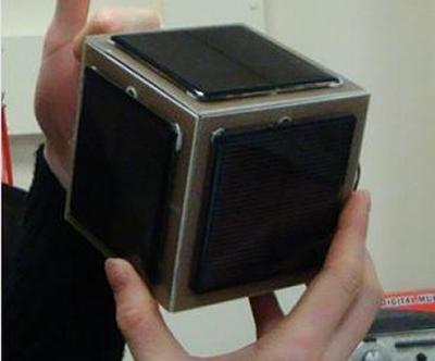 A cubesat designed and built at Southampton University