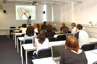 Teaching in the purpose built facility