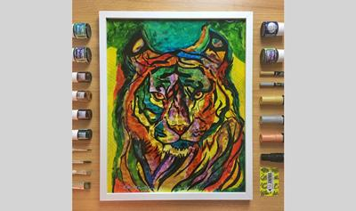 Amrit Singh's artwork