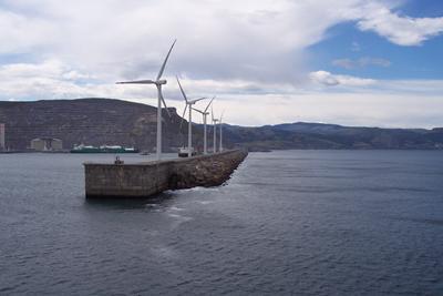Energy generation at Bilbao, Spain