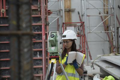 Civil Engineering student Andreea Nae worked with Laing O'Rourke through the SUCCESS scheme