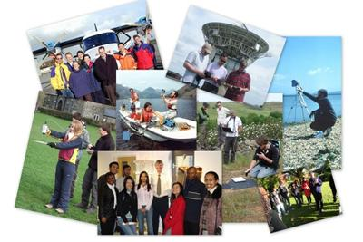 Airborne RS, field spectroscopy, GEM students and NCAVEO