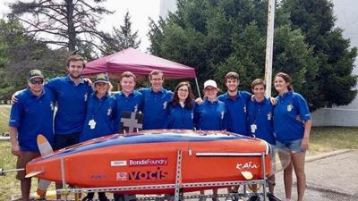 Human Powered Submarine team