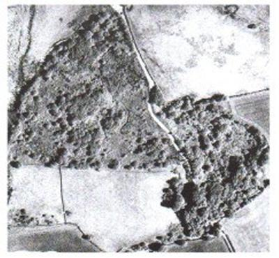 Aerial picture of Maendy Quarry landfill site