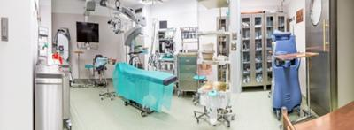 Lubin Hospital, in South West Poland installed copper alloy surfaces in its new operating theatres in 2017