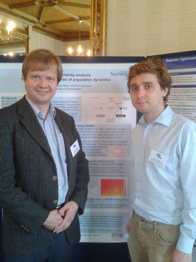 Jakub and Jason at the UCM 2012
