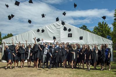 Graduates leave with a competitive edge