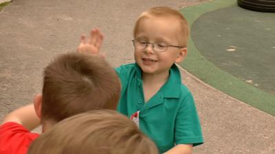 ACoRNS research is aimed at looking how autistic children communicate socially