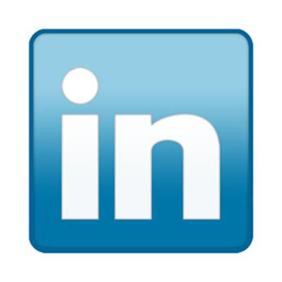 The official LinkedIn Logo