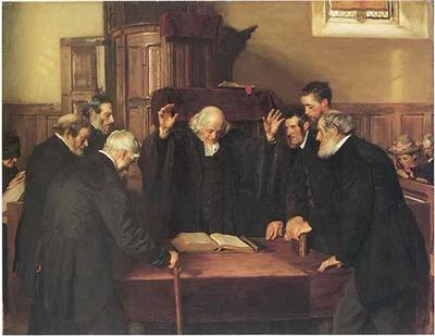 The Ordination of Elders in a Scottish Kirk