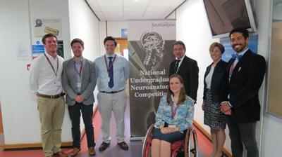Committee members with Professors Ceri Davies and Karen Morrison