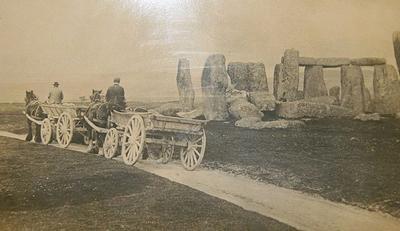 Stonehenge c. 1885