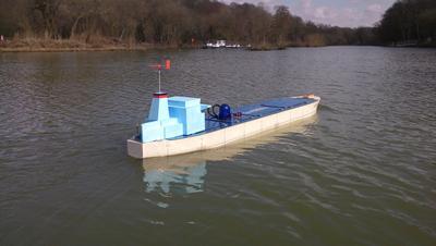 Autonomous Tanker Model