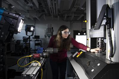 The testing and structures research laboratory