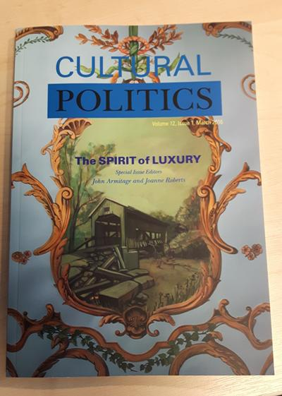 Cultural Politics: Spirit of Luxury