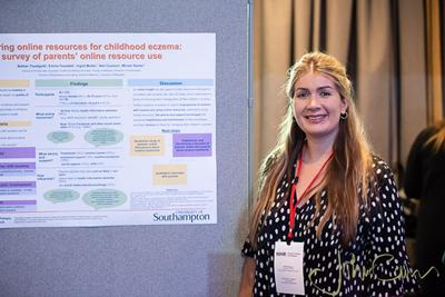 Bethan Treadgold NIHR SPCR 2019 Showcase image courtesy of John Cairns