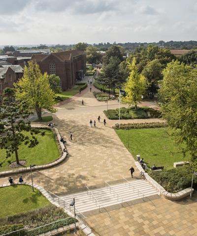 University's Highfield Campus