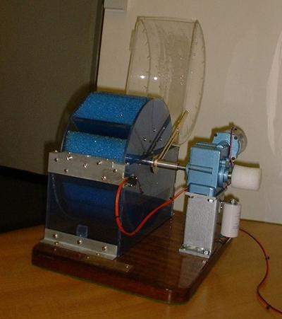 A laboratory prototype of the reactor