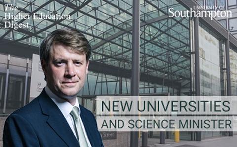 New Universities Minister