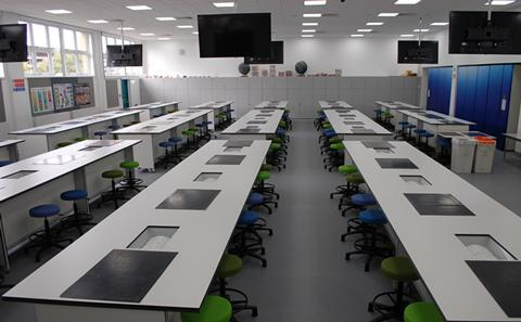 new laboratory facilities