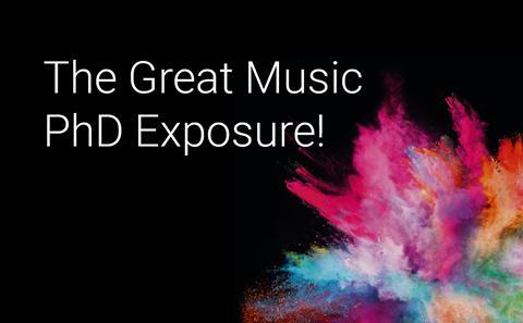 The Great Music PhD Exposure