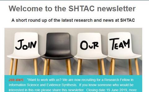 SHTAC newsletter