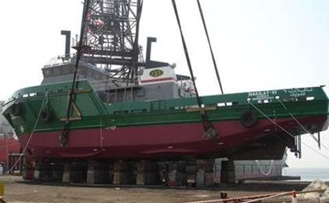 35 m service boat
