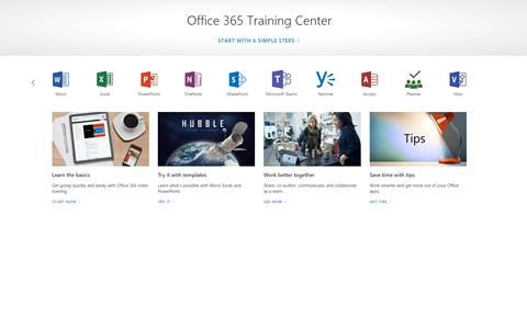 Office 365 Training Centre