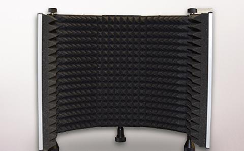 Sound recording booth