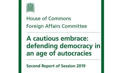 Autocracies and UK Foreign Policy