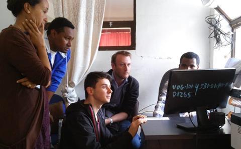 J.Batchelor in Ethiopia
