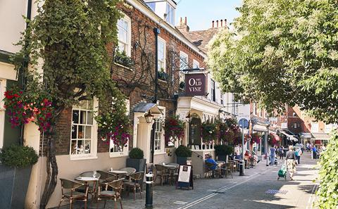 Winchester streets